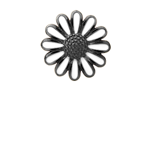 Christina Collect Marguerite black ring