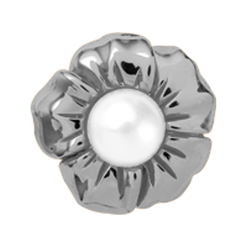 Christina Collect Pearl Flower silver ring