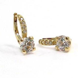 14 ct cubic zirconias Earrings