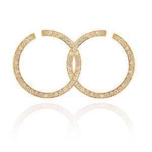 Diva Basics/Superstar gold plated earrings