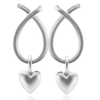 Everyday / Soulheart silver earrings from izabel Camille