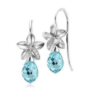 Izabel Camille Earring, model a1344sw-blue