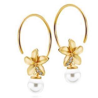 Izabel Camille Earring, model S10273G-CREAM
