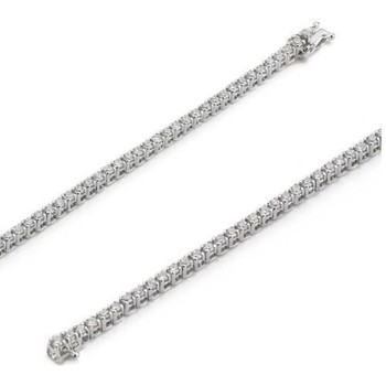 18 ct whitegold diamond bracelet