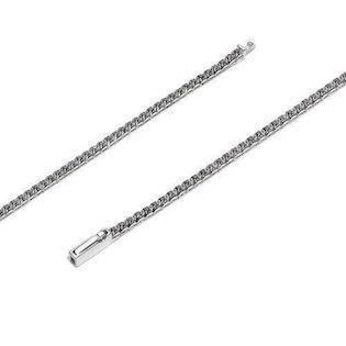 18 ct mini whitegold bracelet w/ 0,50 ct black diamonds