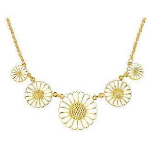 925 silver Daisy Y necklaces from Lund Copenhagen