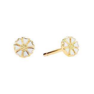 Lund Copenhagen micro daisy earrings (5 mm)