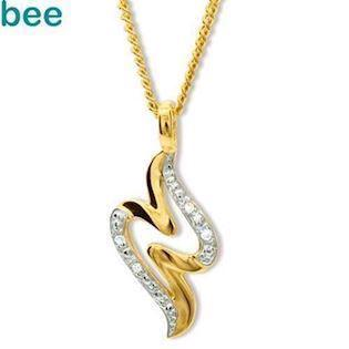 Diamond Set Signature Style Pendant